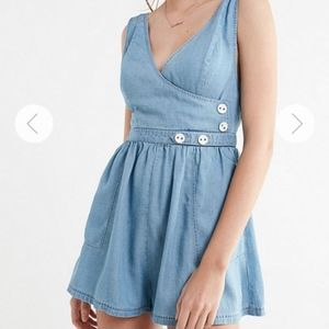 Urban Outfitter's Light Blue Romper
